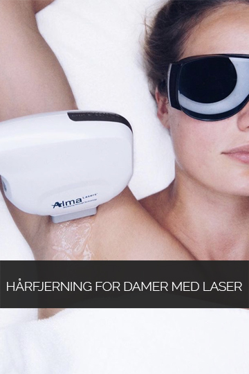 Hårfjerning for damer med laser